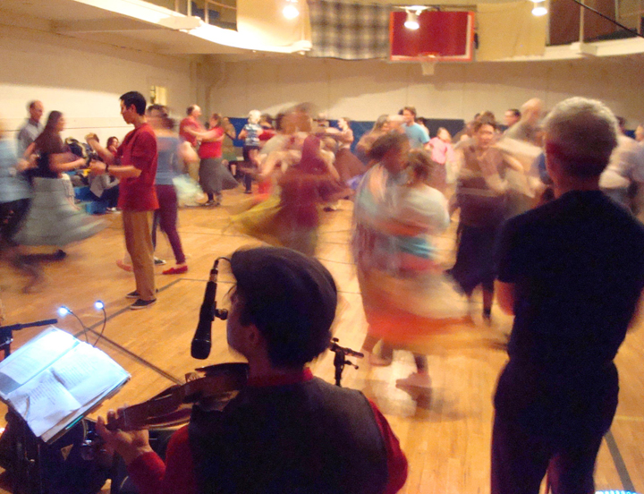 Chatham monthly Contra Dancing at the Morris Memorial community center