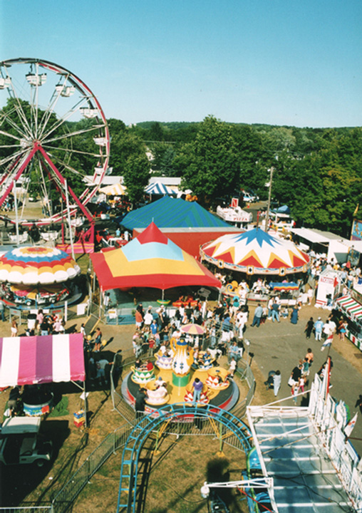 Columbia County Fair, Chatham NY - midway
