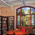 Chatham Library Tiffany window