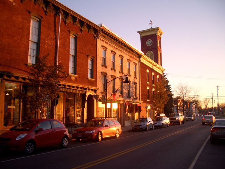 Chatham in golden light