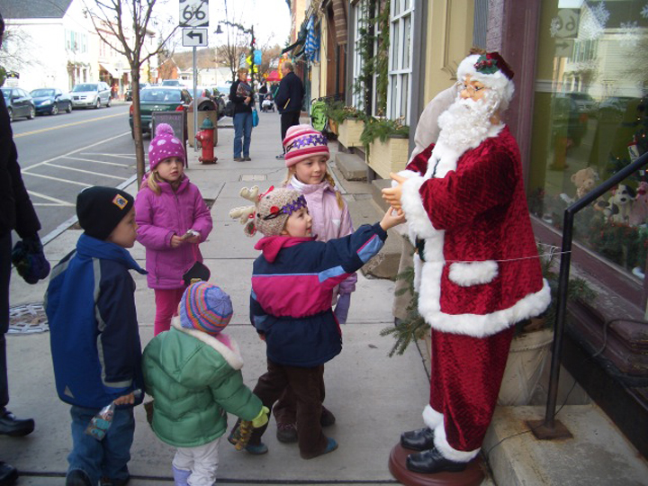 Santa on Main Street